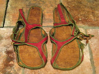 Episcopal sandals footwear worn by Roman Catholic bishops for certain specific liturgical functions