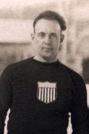 Raymond Bonney - Bonney at the 1920 Olympics.