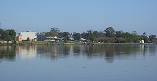 Raymond Terrace Town in New South Wales, Australia