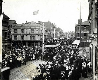 Reading Buses - Reading Corporation Tramways opening ceremony on 22 July 1903