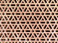 Red sandstone Lattice piercework, Qutb Minar complex.jpg