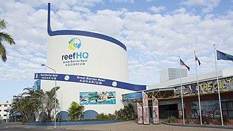 Reef HQ - ReefHQ Aquarium, Townsville, Queensland Australi