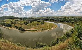 НПП «Дністровський каньйон» поблизу Коропця, © Сергій Криниця, CC-BY-SA 3.0