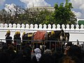 Rehearsal of the royal funeral procession for Rama IX - royal horse (02).jpg