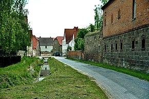 Reinsdorf (Nebra), die Bachgasse.jpg