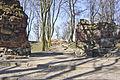 Relikty zamku wysokiego - stan 2007.JPG