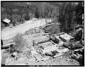 Remains of Paramount Mine. View from north. - Paramount Mine, Saint Elmo (historical), Chaffee County, CO HAER COLO,8-STEL,1-6.tif