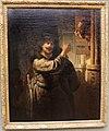 Rembrandt, sansone minaccia il padre, 1635.JPG