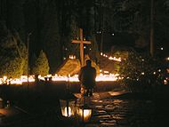 Remembering our dead (sorrow) at cemetery on Christmas.jpg
