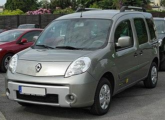 Renault Kangoo - Image: Renault Kangoo II front 20100529