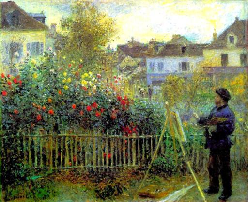 Renoir-Monet painting