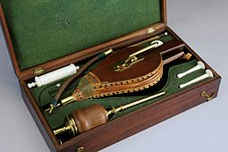 Resuscitation set, Europe, 1801-1850 Wellcome L0057782.jpg