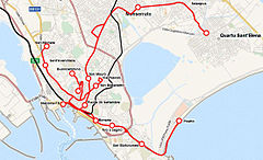 Cagliari light rail Wikiwand