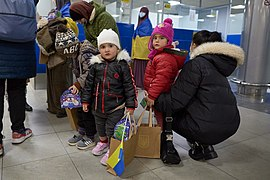 Returning of Ukrainian women and children from Syrian refugee camp 09.jpg