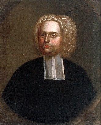 Raid on Deerfield - Portrait believed to be of John Williams, c. 1707