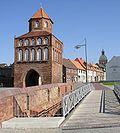 Rostock Gate and St. Mary in Ribnitz