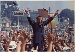 Richard Nixon campaign rally