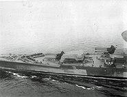 Richelieu en route to New York 1943 bow