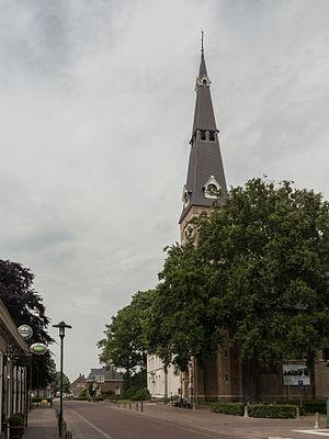 Riel, Goirle - Image: Riel, de Sint Antonius Abtkerk RM516998 foto 3 2015 06 17 16.34