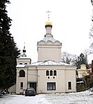 Right view of Orthodox church in Horka-Domky, Třebíč, Třebíč District.jpg