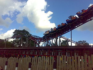 Rita – Queen Of Speed, Alton Towers, Alton, Wielka Brytania.