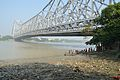 River Hooghly & Howrah Bridge - Ram Chandra Goenka Zenana Bathing Ghat - Kolkata 2012-10-15 0784.JPG