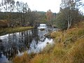 River Loyne by bridge on A87 in Autumn - geograph.org.uk - 1536597.jpg