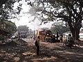 Road Repairing Work - Padmapukur Water Treatment Plant Road - Howrah 2012-02-05 00992.jpg