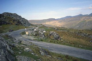 Molls Gap Mountain pass in Kerry, Ireland