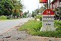 Road signs in Cambodia. Electricity Factory 5 km.jpg