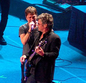 Tim Farriss - Tim Farriss (right) with Rob Thomas