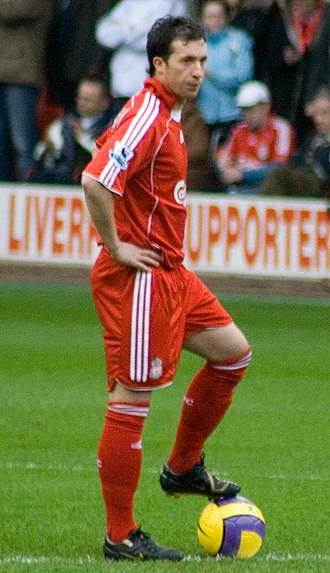 Robbie Fowler - Fowler playing for Liverpool.