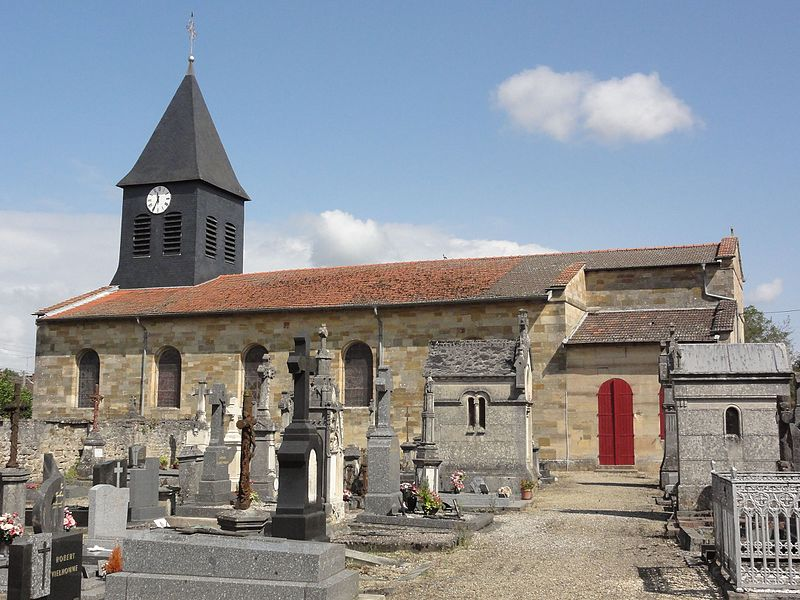 Robert-Espagne (Meuse) église