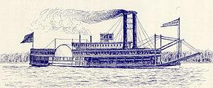 Robert E. Lee (steamboat) - Image: Robert E. Lee (steamboat)