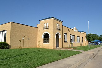 National Register of Historic Places listings in Bryan County, Oklahoma - Image: Robert E. Lee School, Durant, OK