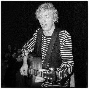 English: Musician Robyn Hitchcock on stage at ...