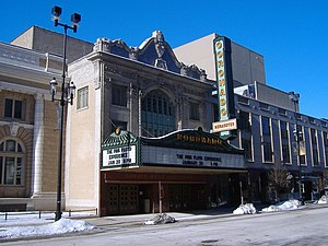 West Downtown Rockford Historic District - The Coronado Theatre was individually listed on the National Register in 1979.