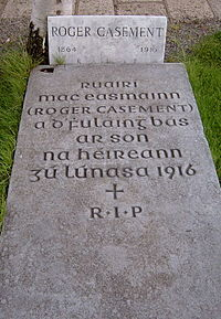 Roger Casement-Grave in Glasnevin.jpg