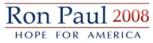 Ron Paul presidential campaign, 2008 - Image: Ron Paul Logo (4138764579)