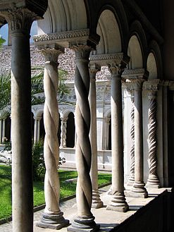 Cloister Of The Basilica Di San Giovanni In Laterano Rome