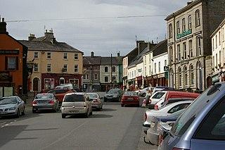 Roscrea Town in Munster, Ireland