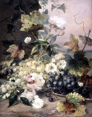 Anne Frances Byrne - Roses and Grapes
