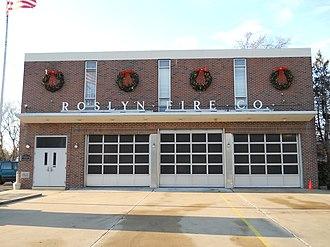 Roslyn, Pennsylvania - Image: Roslyn Fire Co, Roslyn PA 01