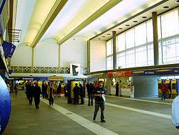 De hal van Rotterdam Centraal