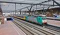 Rotterdam Centraal NMBS 186 204 met IC 9231 Brussel - Amsterdam (16199438455).jpg