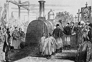 Thomas Brassey - Opening ceremony of the Rouen and Le Havre Railway in 1844