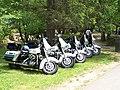 Row of ACPD motorcycles (4787861782).jpg