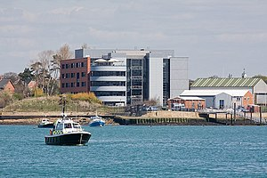 Royal Navy Fleet Headquarters, Whale Island, Portsmouth - geograph.org.uk - 772498.jpg