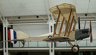 Raid on Bir el Hassana - A B.E.2c at the Imperial War Museum in London.