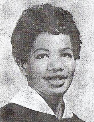 Student Nonviolent Coordinating Committee - Graduation photo of Ruby Doris Smith-Robinson, who would go on to be executive secretary of SNCC, 1966-1967.